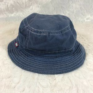 City Threads Chambray Blue Denim  Bucket Hat 2T-3T